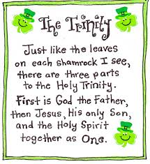 a wee bit of history about st patrick holy spirit sons and leaves