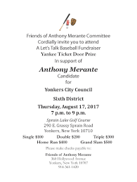 anthony merante candidate for yonkers city council district 6