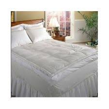 down mattress topper top feather bed king hotel grand 5 inch