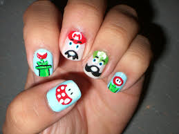 geeky nail designs the weird the cute and the impractical