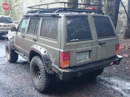 360 view of jeep comanche barn doors on an xj jeep cherokee forum nice old jeep