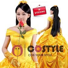 princess belle beast halloween costume beauty fancy