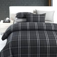 Black And White King Size Duvet Sets Tartan Duvet Covers King Size U2013 Vivva Co
