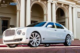 bentley mulsanne on 24 inch vellano wheels rides magazine cars