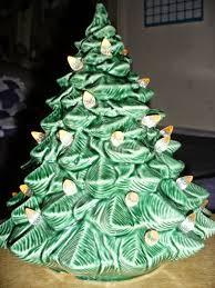 ceramic christmas tree base with light christmas lights decoration