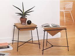 side table cork basil petite friture editeur de design objet