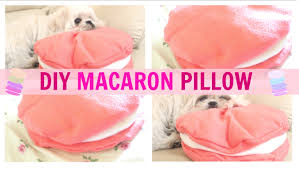 diy room decor cute macaron pillow no sew u2022 heartcindy youtube