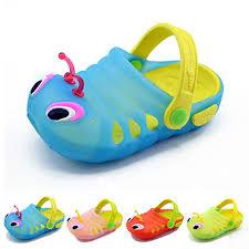 kid shoes new 2017 kids caterpillar garden shoes summer sandals child