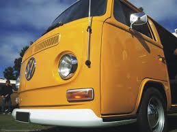 old volkswagen yellow vw bus festivals campervan crazy
