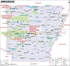 Time Zone Map Of United States by Arkansas Map Map Of Arkansas Ar