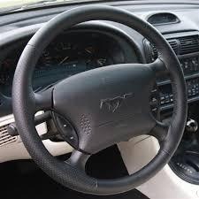 mustang steering wheels sve mustang fr500 style steering wheel black 94 98