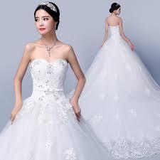 wedding dress 2016 slim brief bridal long trailing beach