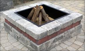 Fire Pit Liner by Firepits Decoration Steel Square Fire Pit Liner Square Fire Pit