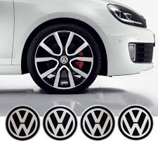 vw volkswagen wheel center caps sticker emblem logo 4 x 55mm