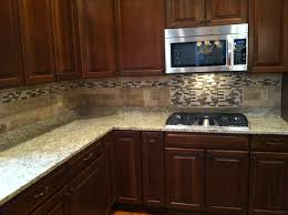 interior kitchen backsplash ideas black granite countertops