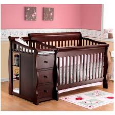 Storkcraft Portofino Convertible Crib And Changer Combo Espresso by Combination Crib And Toddler Bed Creative Ideas Of Baby Cribs
