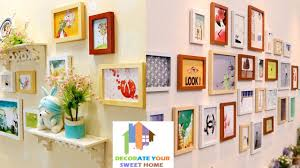 most common photo frame set to decorate your living room youtube
