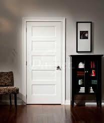 Prehung Doors Interior 5 Panel Flat Door Conmore From Craftmaster Darpet Interior Doors