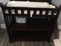 Sears Changing Table Delta Children Eclipse Brown Espresso Cherry Changing Table