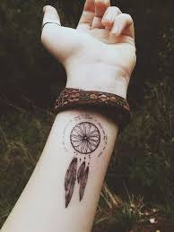 Tattoos Of - best 25 dreamcatcher tattoos ideas on dreamcatcher