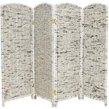 Grey Room Divider 4 Ft Gray 4 Panel Recycled Newspaper Room Divider Fb News1 4p