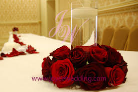 roses centerpieces roses with candle centerpieces joyce wedding services
