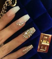 imagenes de uñas acrilicas con pedreria 4320 piedra cristal decoración uñas acrilico gel swarovski 395