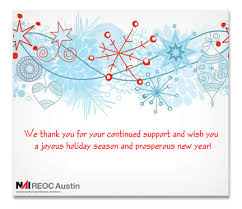 real estate new years cards happy holidays from reoc reoc commercial real
