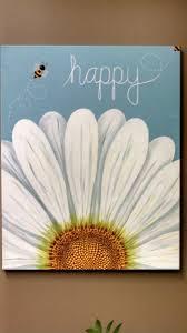 Flowers On - best 25 flower painting canvas ideas on