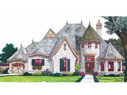 eplans french country house plan fairytale cottage 2847 square