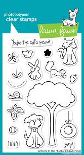 clear stamps lawn fawn