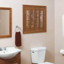 Home Depot Wood Shutters Interior Homebasics Traditional Faux Wood Oak Interior Shutter Price