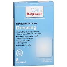 walgreens transparent film dressings walgreens