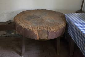 Tree Trunk Table A Cross Cut Tree Trunk Table Clippix Etc Educational Photos For