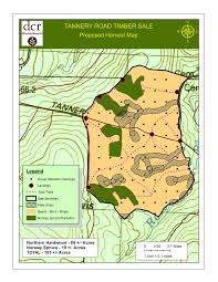 Map Of Eastern Massachusetts Massachusetts Dept Of Conservation U0026 Recreation Tannery Road