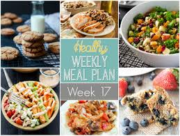 thanksgiving menu plan healthy weekly meal plan 17 yummy healthy easy