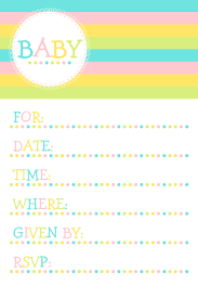 baby shower invite samples mughals