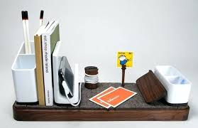 Modern Desk Accessories And Organizers Desk Modern Desk Organizer Set A Designer Desk Accessories And