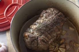 recette de cuisine roti de veau recette de rôti de veau cuit au four ail et fleur de thym facile et