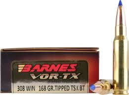 Barnes Tipped Tsx Barnes 308 Win 10 89g 168grs Barnes Tipped Tsx Büchsenmunition