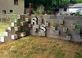 pleasurable cinder block garden wall stylish concrete blocks for