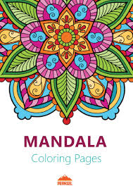 file mandala coloring pages adults printable coloring book