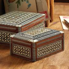 egyptian mother of pearl inlaid boxes national geographic store
