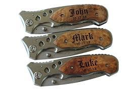 pocket knife engraving free engraving pocket folding knife with metal blade groomsmen