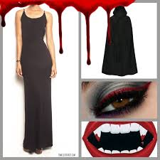 diy vampire timeless black