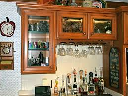 Cabinet Door Fronts Lowes The Glass Doors On These Gray Kitchen Cabinets Lend A Modern Feel