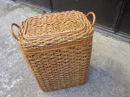 brandylovesvintage diy dip dyed laundry basket