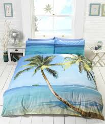 Ocean Duvet Cover Tropical Island Beach Bedding Twin Full Queen Duvet Cover