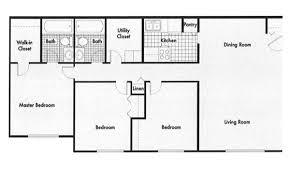 2 Bed 2 Bath House Plans Apartment Charming 3 Bedroom 2 Bath Apartment Floor Plans Plan 4