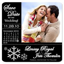 save the dates magnets winter save the date magnets
